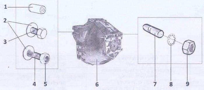 50.1005019 Сцепление для вездехода ГАЗ-34039