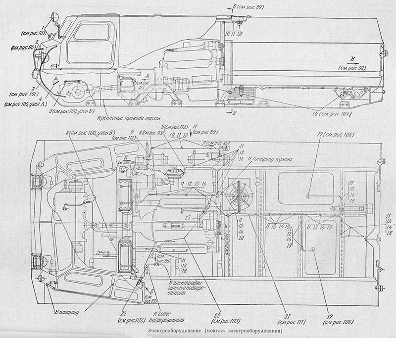 1В12.50.001 Электрооборудование для вездехода МТЛБу