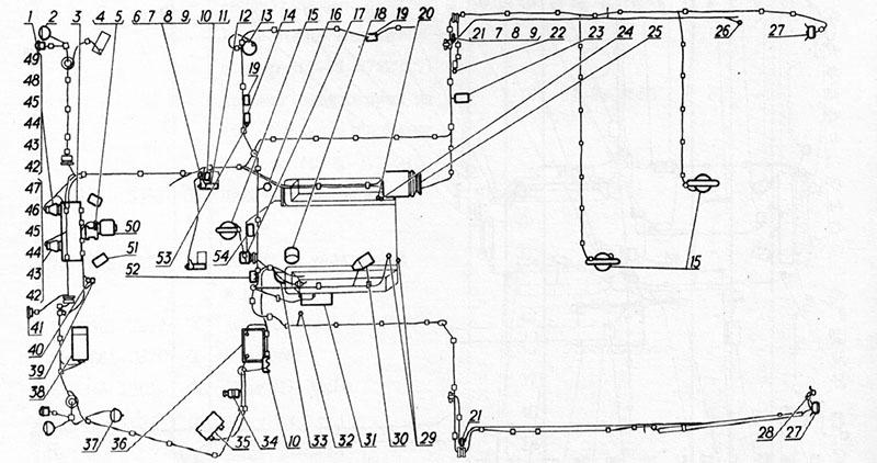 Электрооборудование для вездеходов ГАЗ-73 ГТМУ