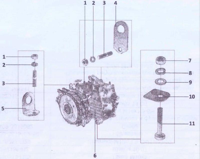 250513-П29 Главная и дополнительная передачи для вездехода ГАЗ-34039